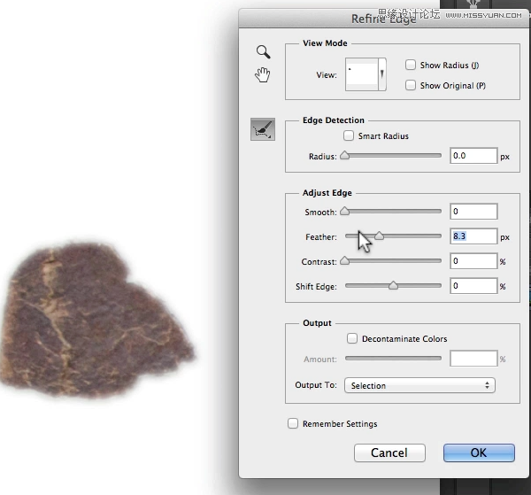 快速选择工具 选取相似及扩大选取 -Photoshop解析修改选区的十招