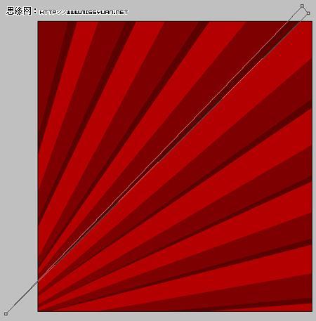 色器对话框,将颜色的16进制值设置为C00000,然后按Alt+Del键填充