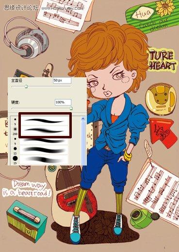 学好ps是不是要有美术-Photoshop绘画教程 结合手绘板分析插画的设计过程