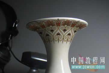 用PS帮陶瓷花瓶印上复古图案 云峰轩写真瓷像照片技术学习