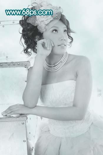 婚纱写真照片润肤美化的PS教程 云峰轩写真瓷像照片技术学习