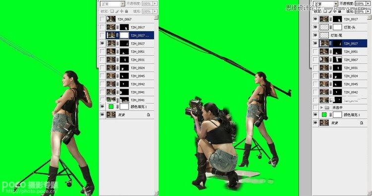 景 质感效果 PS教程 -Photoshop设计质感的多人广告大片效果图,云