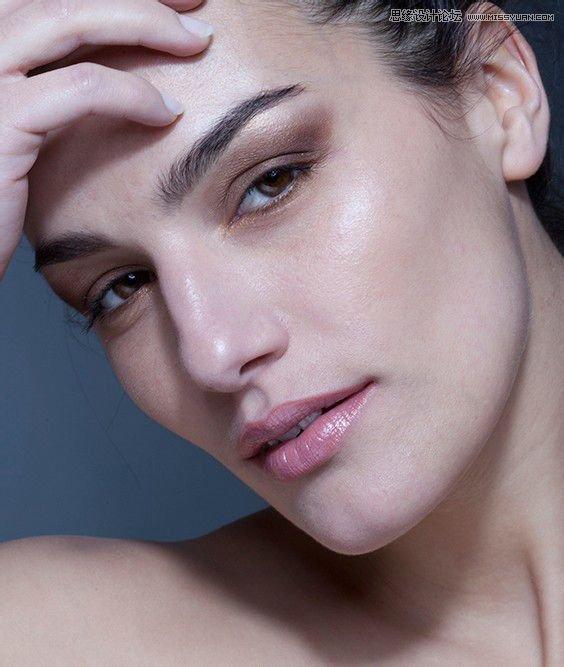 toshop给人像肤色后期质感磨皮和精修处理