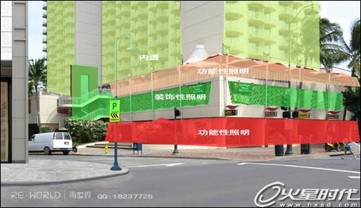 Photoshop模拟灯光场景3D渲染光感