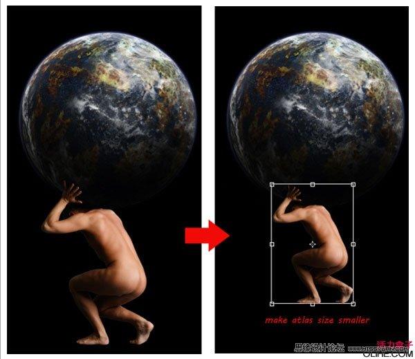 Photoshop合成超酷古希腊神话场景,瓷像教程 云峰轩瓷像网